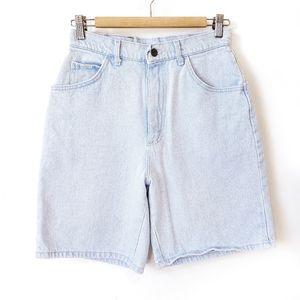 Vintage Lee High Rise Mom Jean Bermuda Shorts